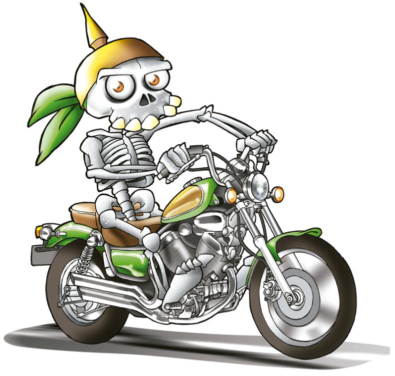 Skelett-custom