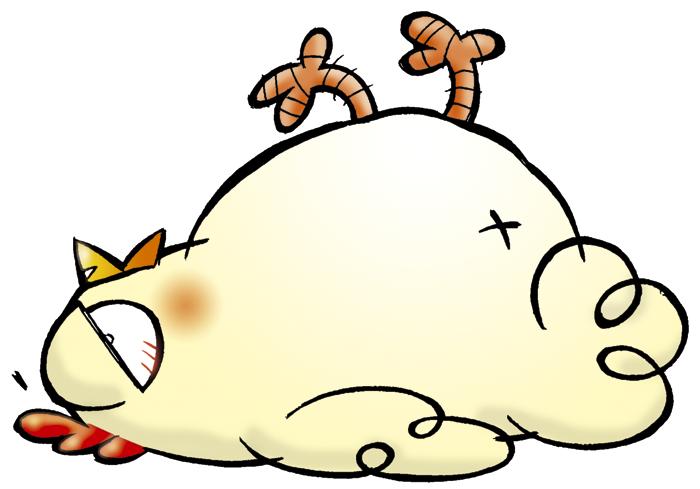 sleepy-chicken