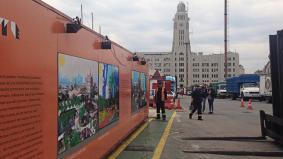 Museo en la Aduana de Montevideo.